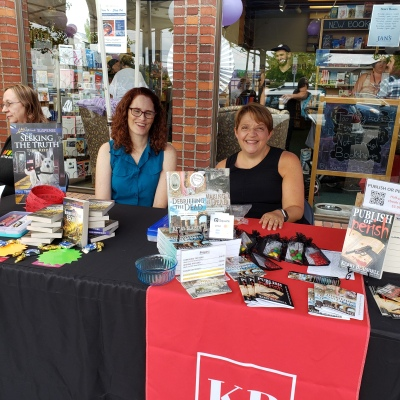 Terri & Kerry at Bookstore Romance Day